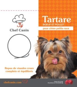 chef canin- beef chicken