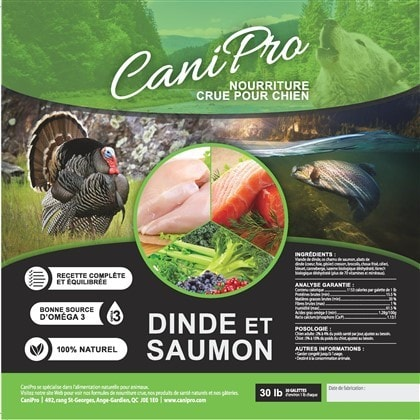 canipro-dinde saumon