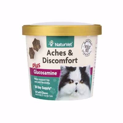 Naturvet® Cat Aches & Discomforts Soft Chews